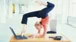 7 eenvoudige oefeningen voor aan je thuisbureau