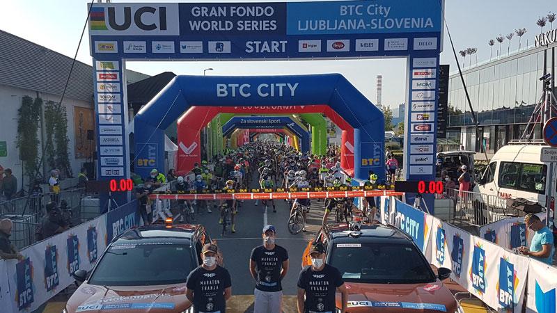 Andrea Chiminello et Laura Simenc remportent Maraton Franja