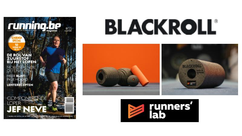 Welkomstgeschenk voor nieuwe abonnees: BLACKROLL x Runners' lab-edition producten gratis!