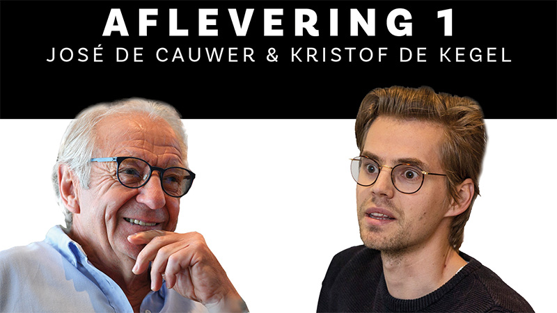 Luister hier naar Arrivee: aflevering 1 met José De Cauwer en Kristof De Kegel