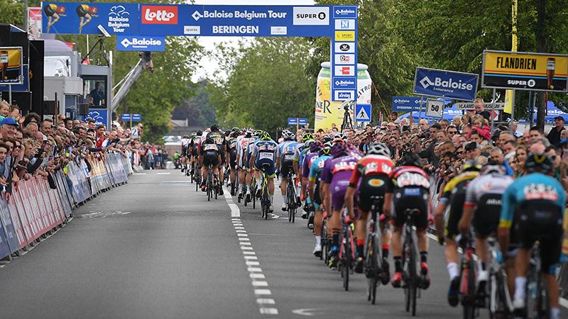 Vleugje WK-parcours in Baloise Belgium Tour
