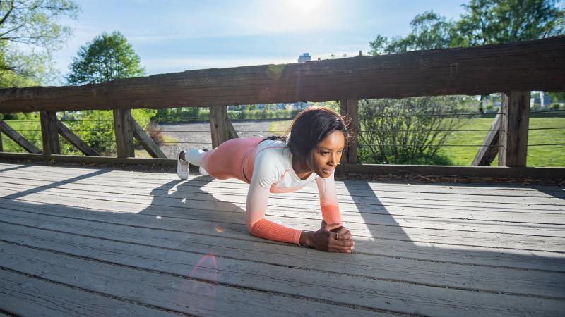 3 doeltreffende oefeningen met je eigen lichaamsgewicht