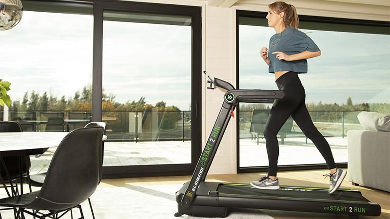 Indoor trainen wordt nóg efficiënter met de Start 2 Run loopband