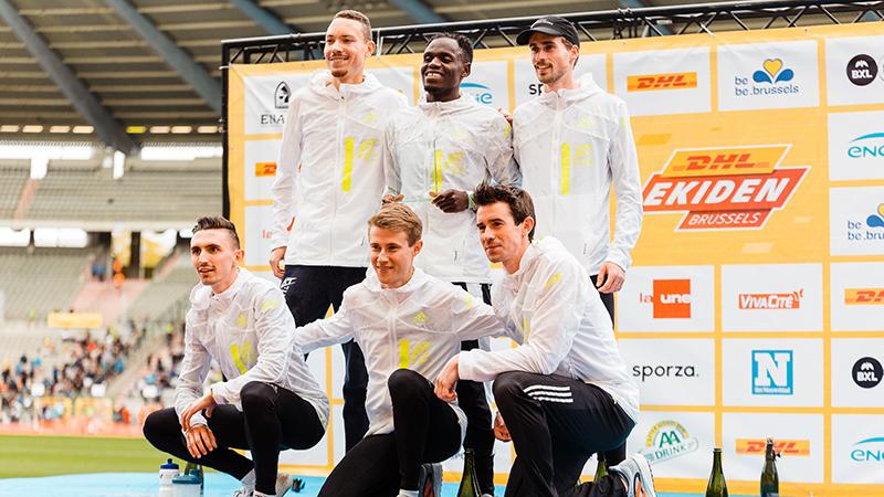 Nieuw Belgisch record op succesvolle DHL Ekiden