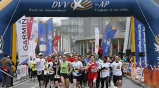 DVV Running Tour: Brussels 10K 2012