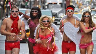 Loopwedstrijd voor Cupido