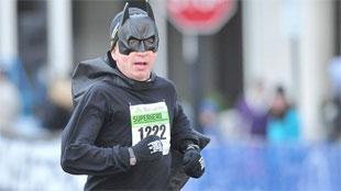Loopwedstrijd voor superhelden