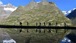 Rondje rond de Mont Blanc