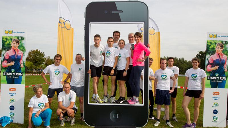 Lancering Start 2 Run app