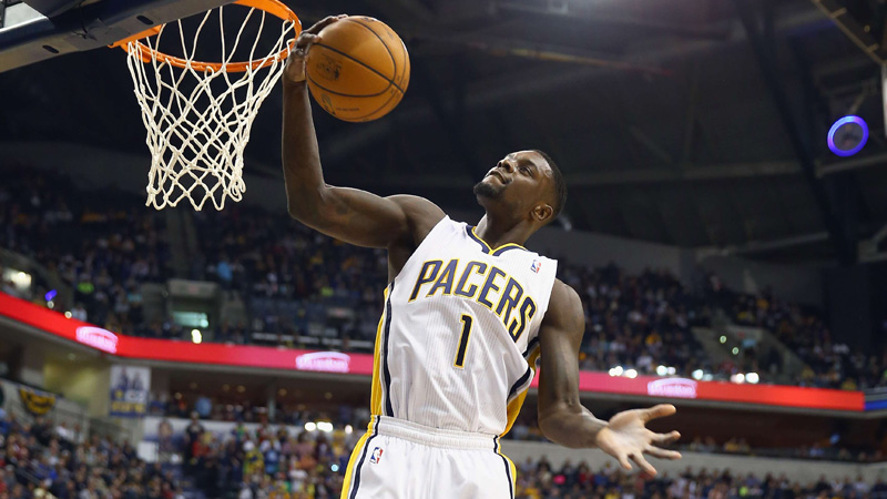 Indiana Pacers als leider 2014 in
