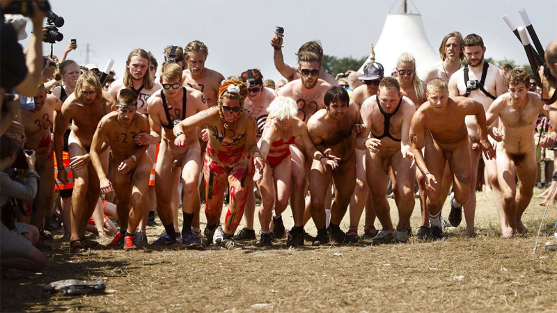 Loopfestival voor streakers