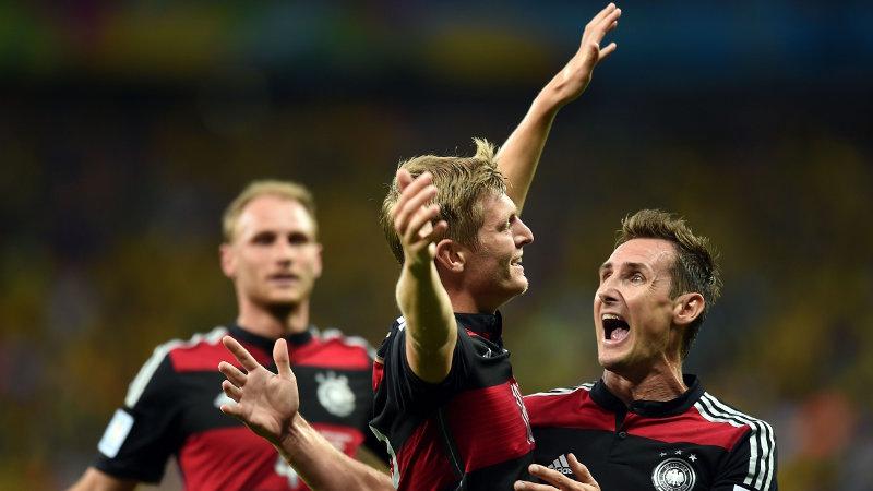 WK 2014: Brazilië-Duitsland