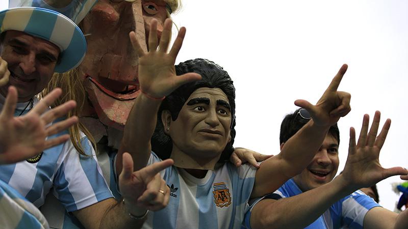 WK 2014: Nederland-Argentinië