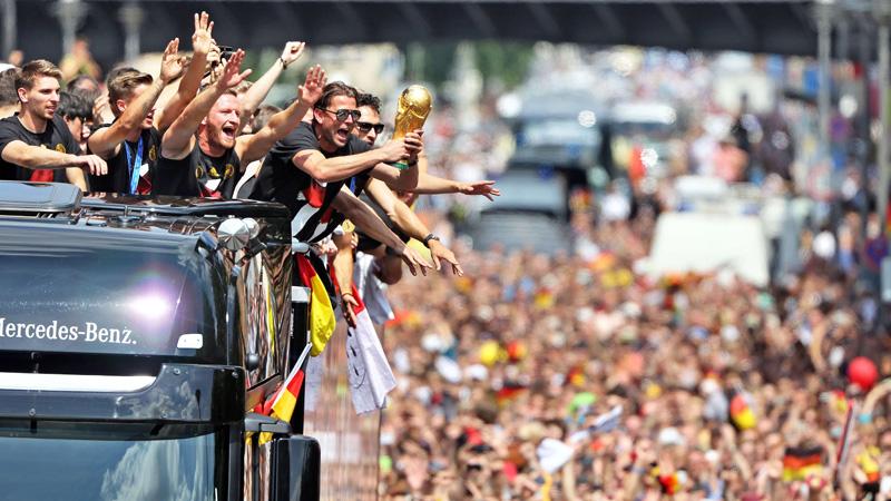 WK 2014: Duitsland komt thuis
