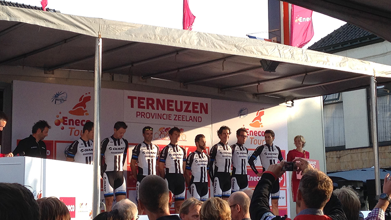 Eneco Tour: ploegenpresentatie