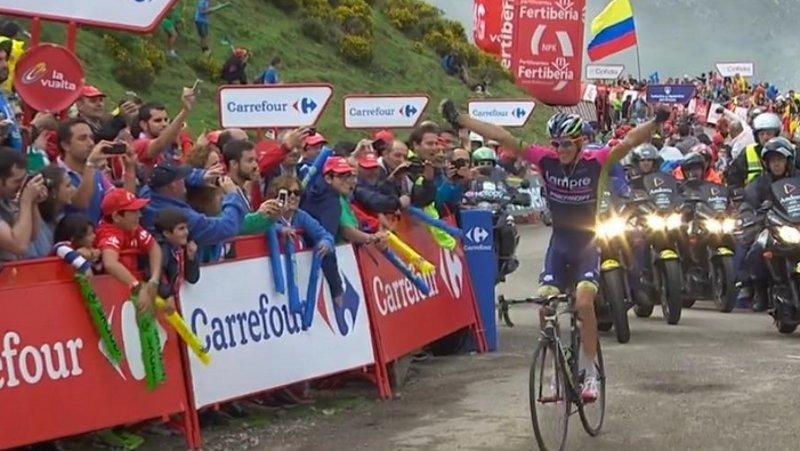 Vuelta: rit 15