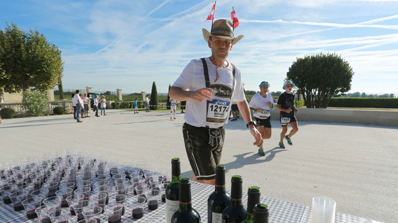42 km eten en drinken