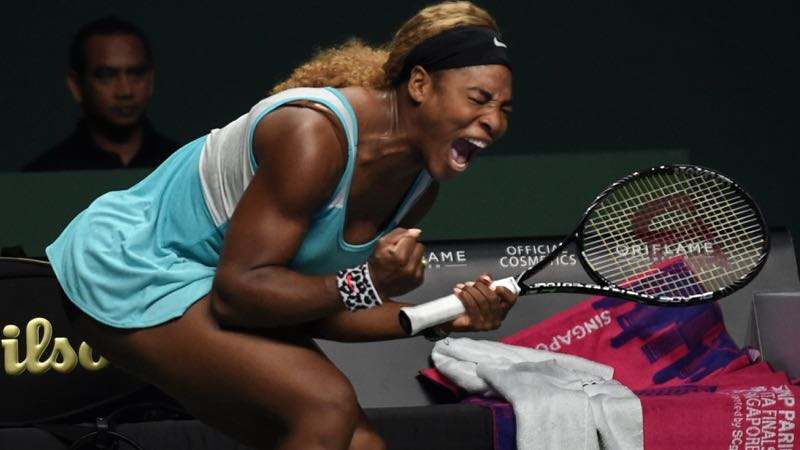 WTA Masters Singapore: Dag 1