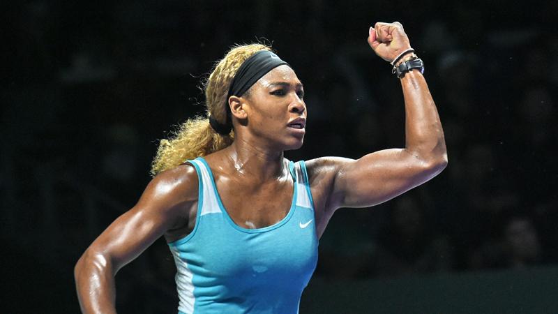 WTA Masters Singapore: Dag 6