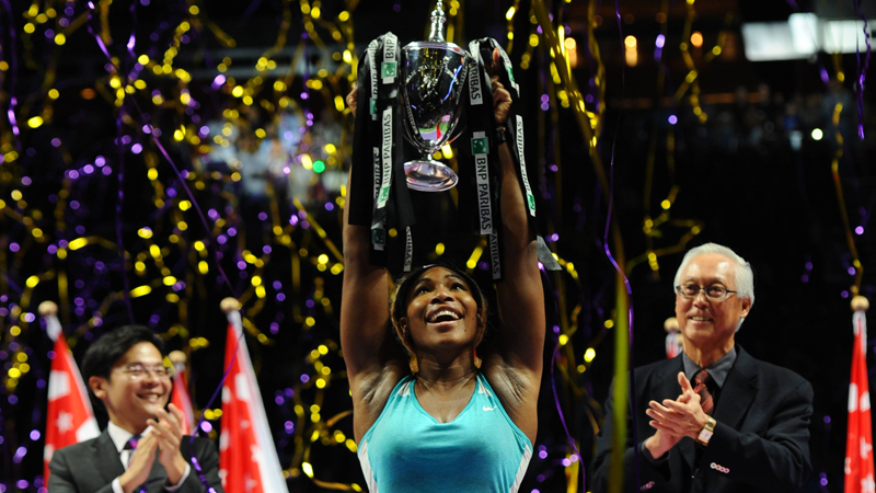 WTA Masters Singapore: Finale