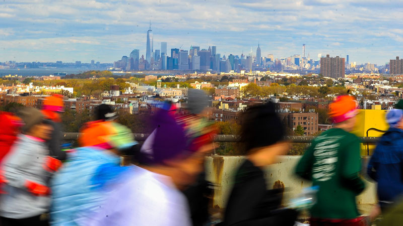 De New York City Marathon 2014 in 20 foto