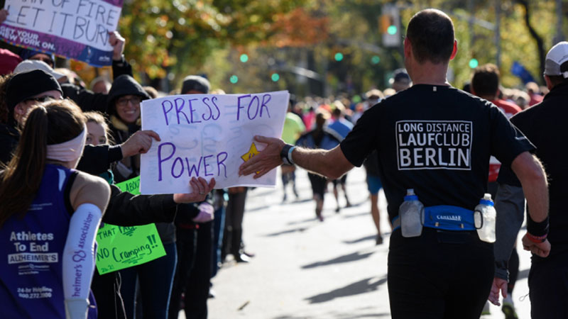De beste slogans van de New York City Marathon