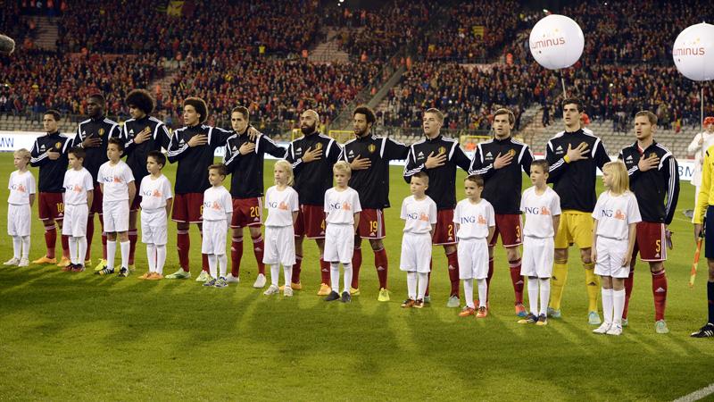 Diables Rouges: Belgique - Islande