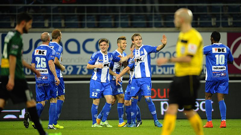 Gent wint van vlot Cercle Brugge