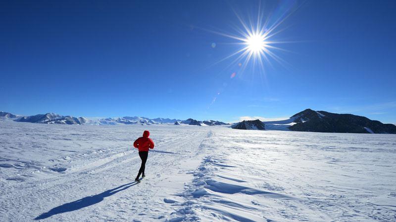 Belg wint marathon op Antarctica