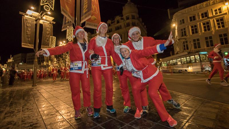 GvA Santa Run Antwerpen