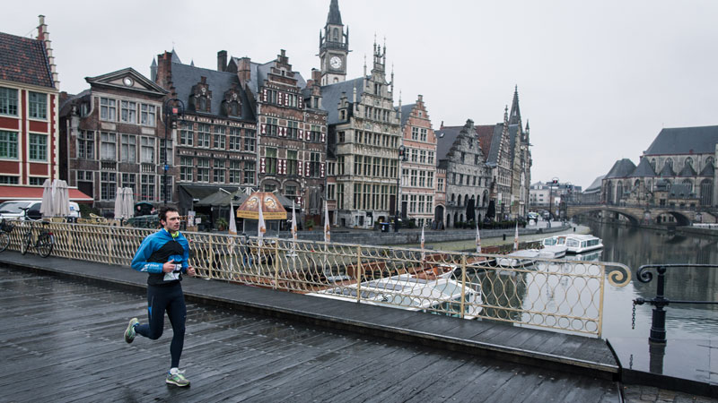 Cédric Van Branteghem verkent Urban Trail Gent