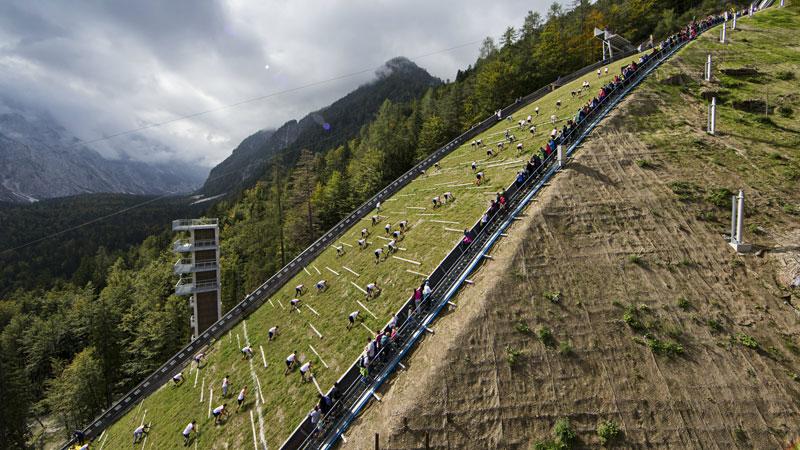 Dit is de zwaarste 400 meter ter wereld