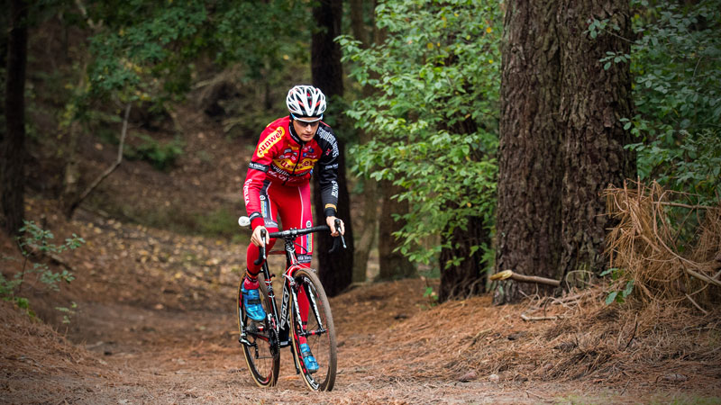 Kevin Pauwels does recon of European Championships in Huijbergen