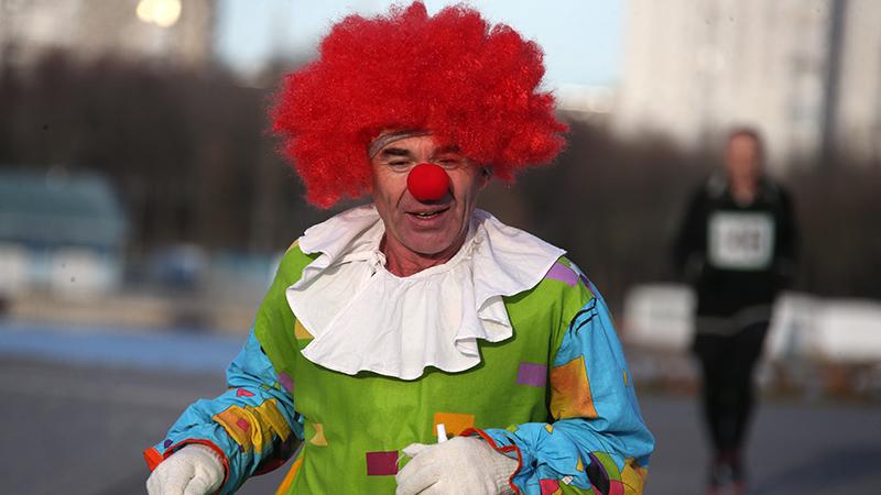 Carnaval op 2e kerstdag in Minsk