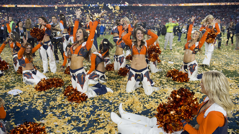 Cheerleaders Super Bowl