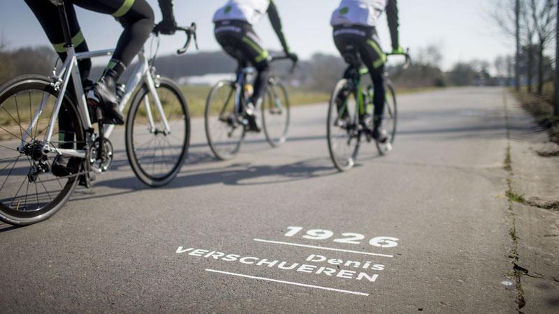 Ronde van Vlaanderenstraat als eregalerij