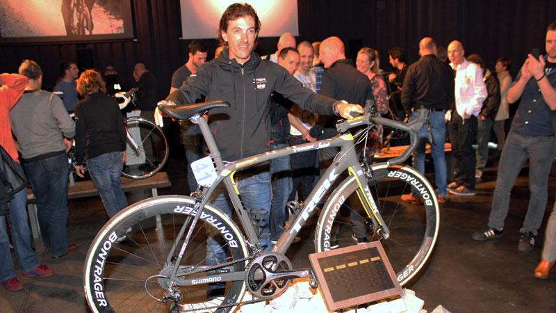 De laatste Ronde-fiets van Cancellara