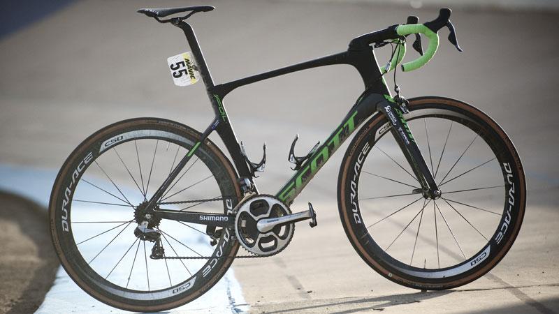 De winnende fiets van Parijs-Roubaix