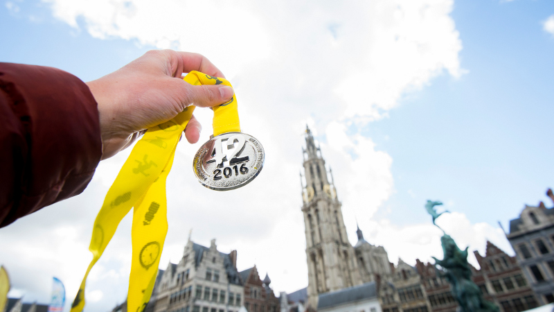 Antwerp 10 Miles & Marathon 2016