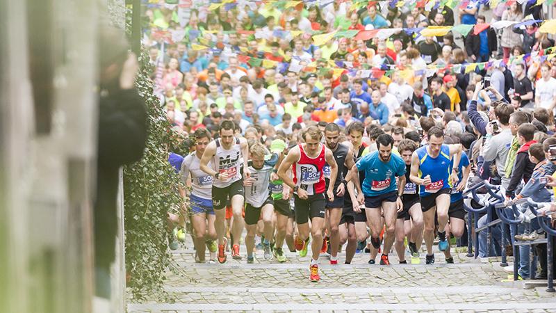 Belgen overwinnen 'meest extreme trappen ter wereld'