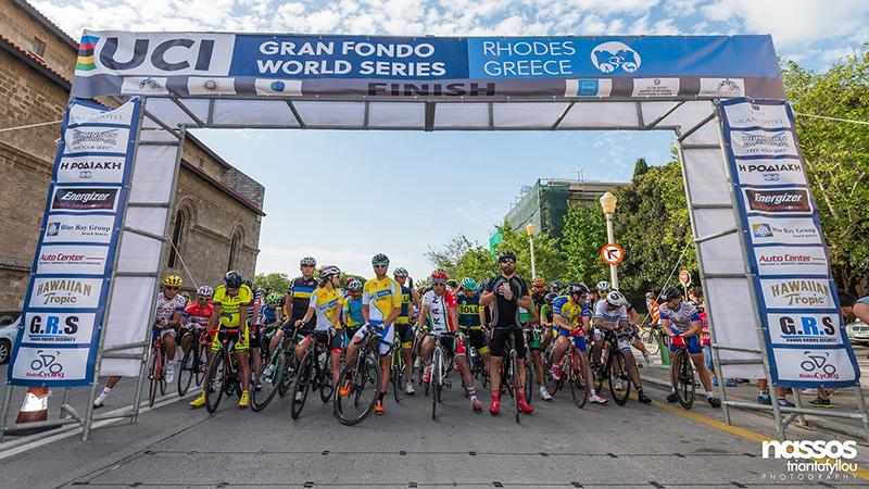 Rhodes Gran Fondo Tour road race