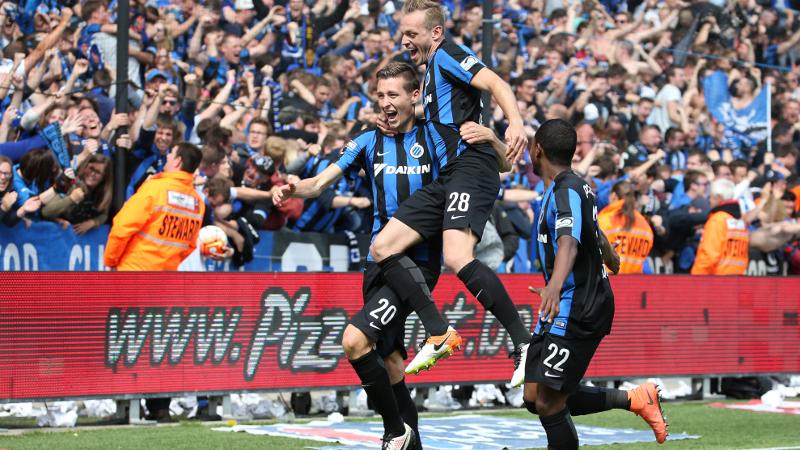 Le Club de Bruges champion !