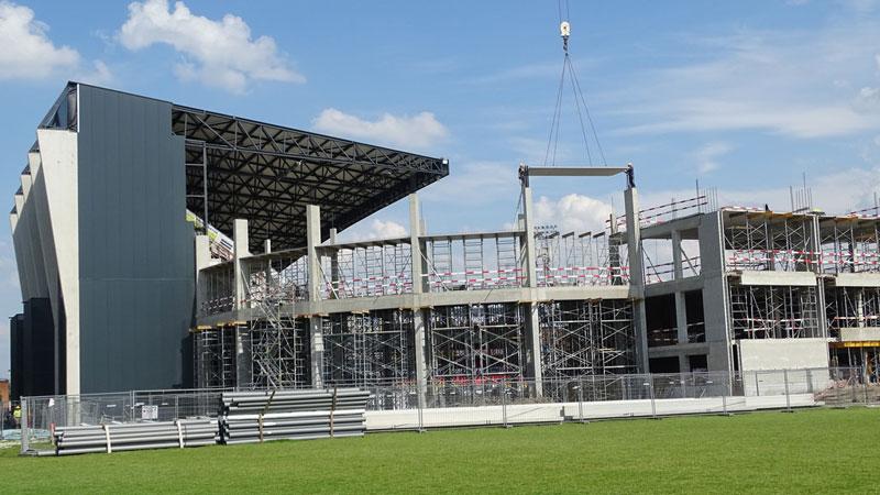 IN BEELD: Verbouwingen AFAS-Stadion