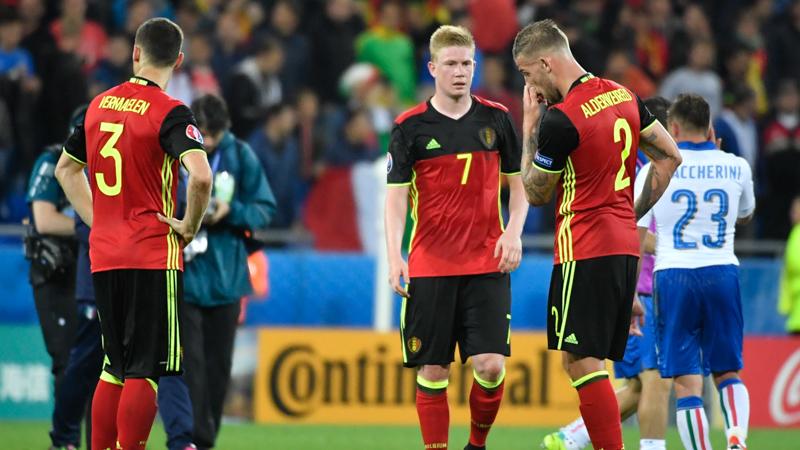 Euro 2016: Belgique - Italie