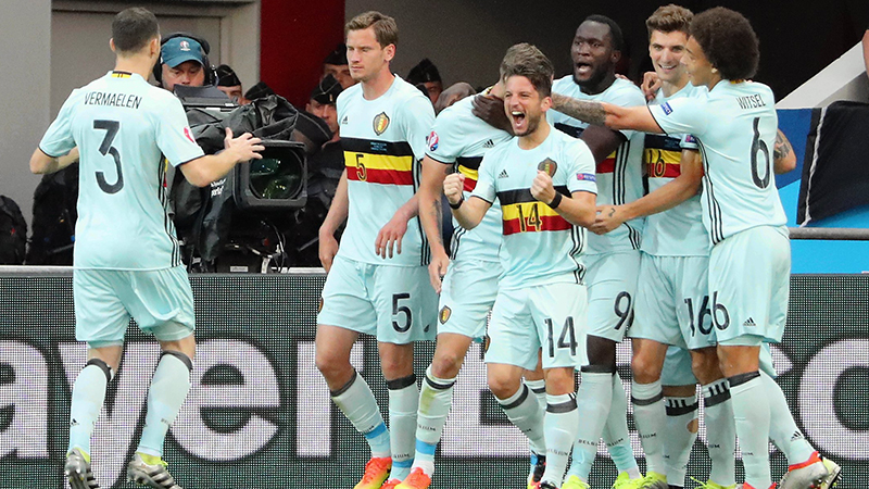 Euro 2016: Hongrie-Belgique