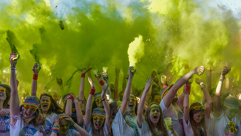 The Color Run by Lipton Ice Tea (Oostende)