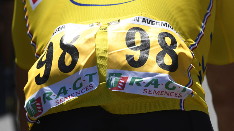 Greg Van Avermaet drie dagen in het geel