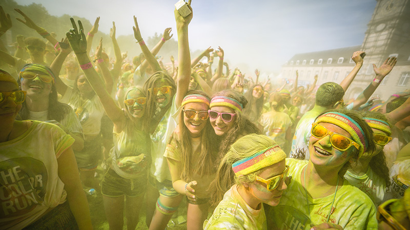 The Color Run by Lipton Ice Tea