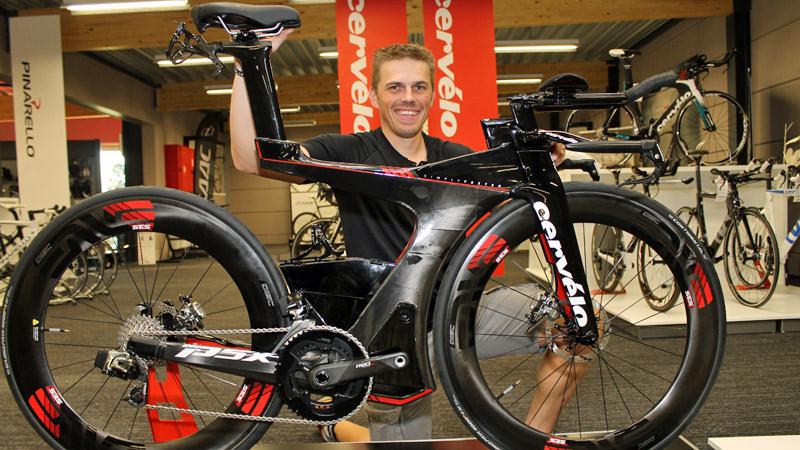 Nieuwe triatlonbolides van Cervélo en BMC