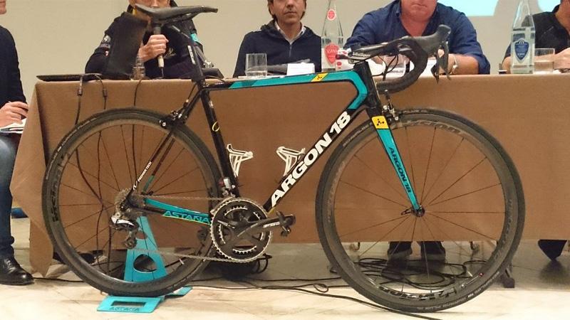 De nieuwe Argon 18 van Astana